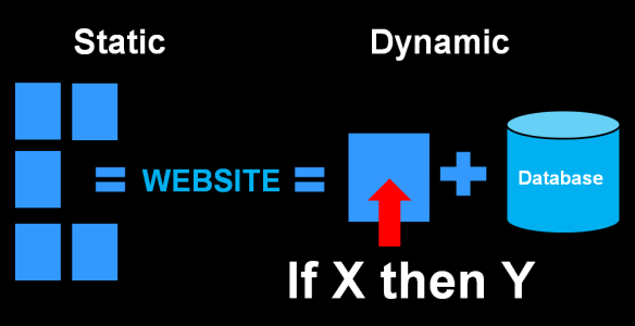 Static vs Dynamic Web Development